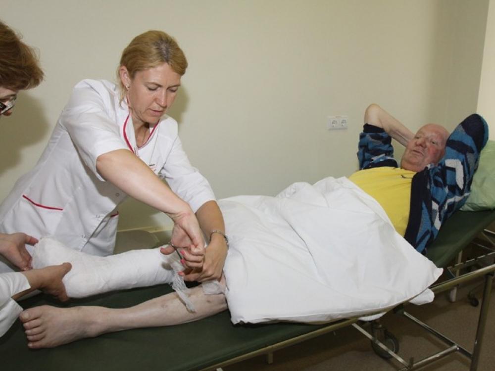stacionarinė slauga dėl hipertenzijos