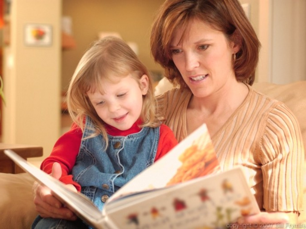 Skaitymas vaikui turi teikti džiaugsmą