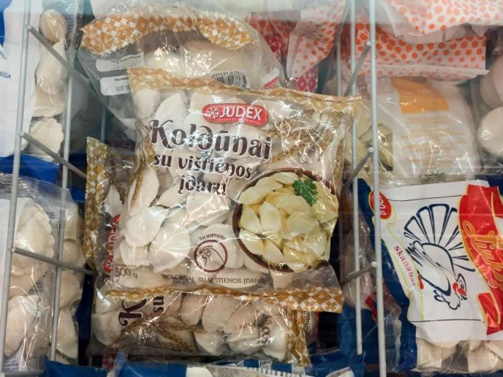 """Veterinarijos tarnyba """"Judex"""" koldūnuose rado salmonelių"""