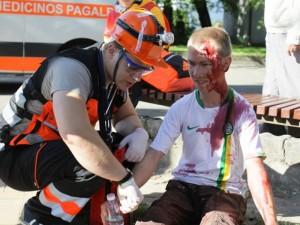Greitosios medicinos pagalbos žaidynės: apie psichologinį pasiruošimą, strategiją ir nenumatytas situacijas