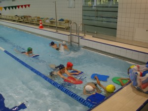Klaipėdoje – rekordiniai plaukimo mokymai vaikams