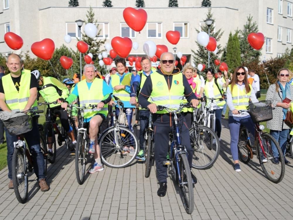 Sveikai širdžiai – žygis dviračiais