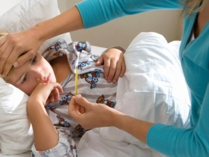 Kada vaiko nepakanka gydyti namuose
