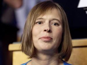 """Naujoji Estijos prezidentė: """"Neketinu užsiimti žaidimais"""""""