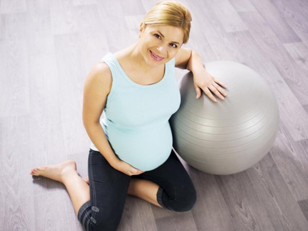 Sportuojanti nėščioji stiprina ir gimsiantį kūdikį