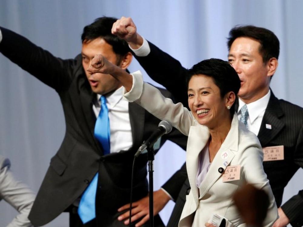 Renho Murata Japonijos moterims žada revoliuciją