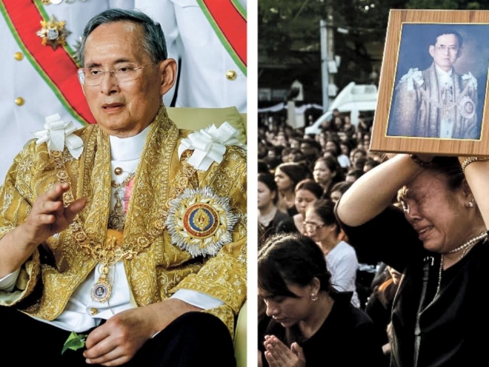Mirus Tailando karaliui šalyje kliba monarchija
