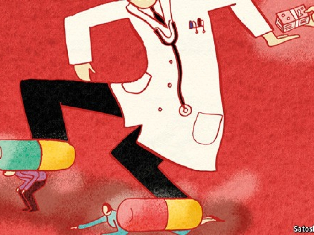 Korupcija sveikatos sektoriuje apraizgiusi pasaulį