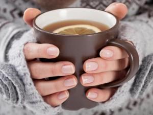 Vėlyvą rudenį – šildančios arbatos puodelis