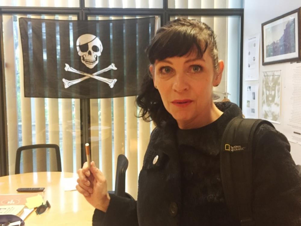 Poetė, metanti iššūkį Islandijos politinei sistemai