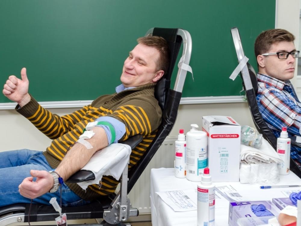 Nacionalinis kraujo centras kitiems metams išsikėlė ambicingiausią tikslą