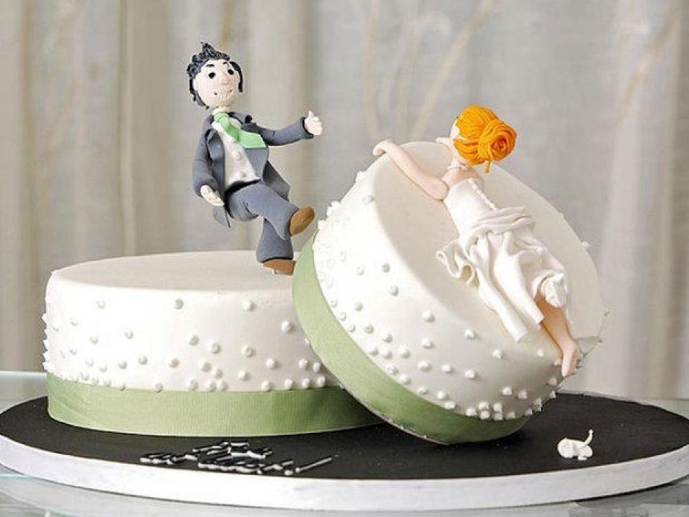 Tortas... skyrybų proga