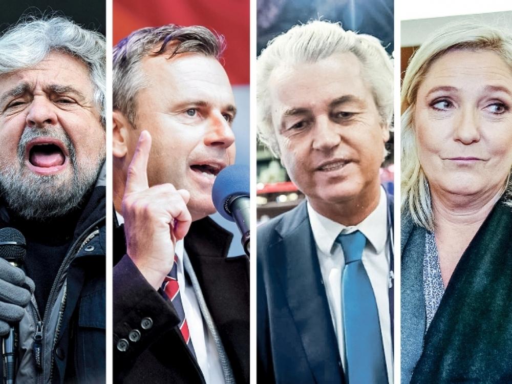 Populizmo banga užlieja Europą