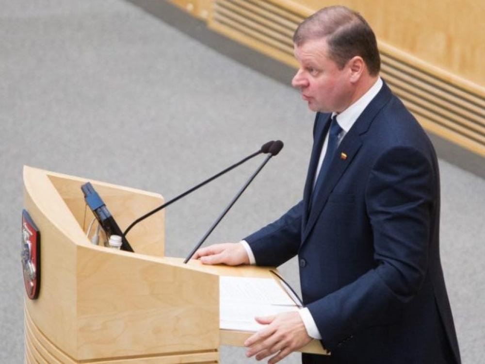Saulius Skvernelis paskelbė būsimus ministrus