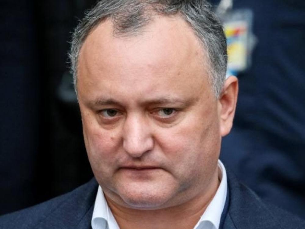 Moldovos prezidentui sveikatos reikalai nerūpi