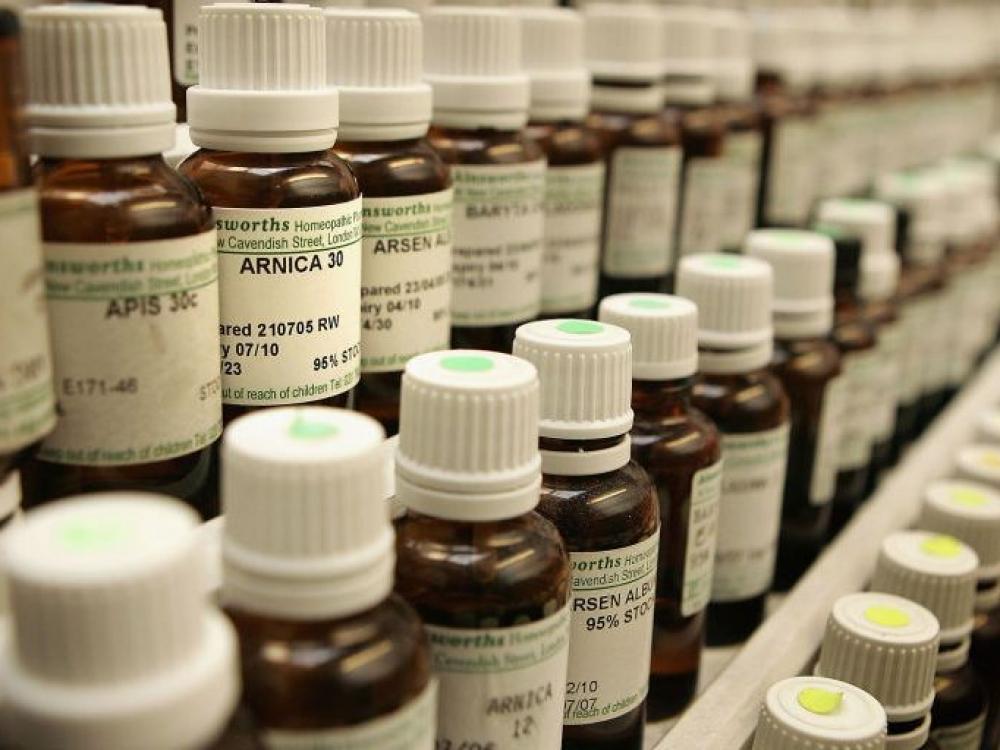 """Ant homeopatinių preparatų atsirasiantis užrašas: """"neveiksmingas"""""""
