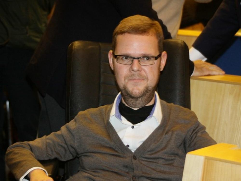 """Justas Džiugelis: """"Asistentas – prabanga neįgaliesiems"""""""