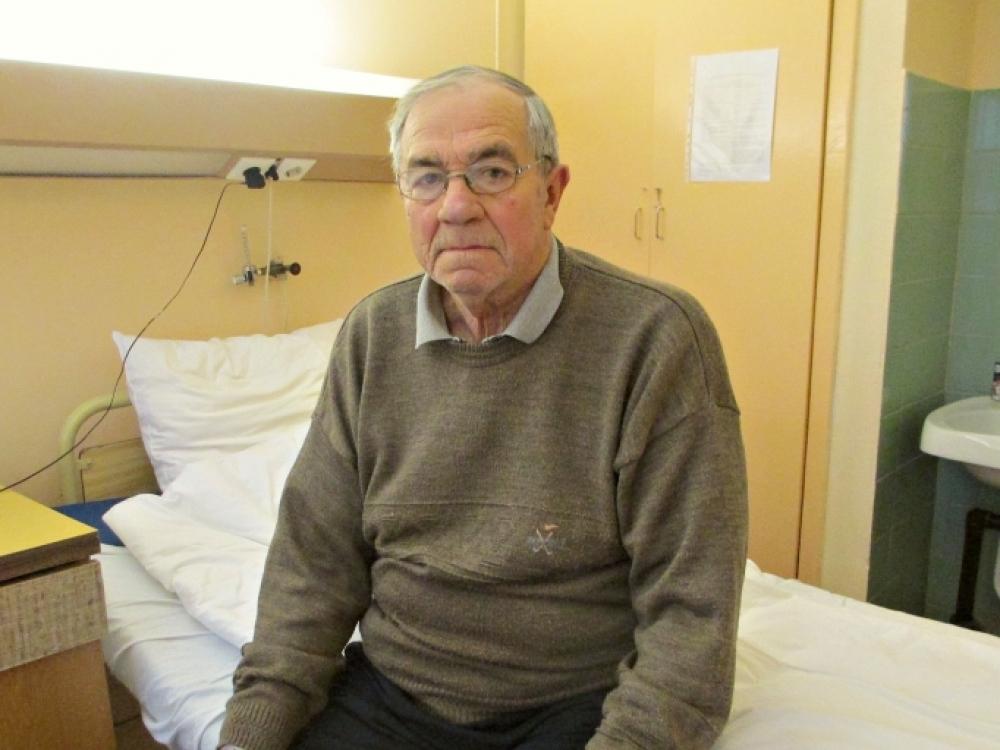 Plyšus pilvo aortai pacientas džiaugėsi likę gyvas