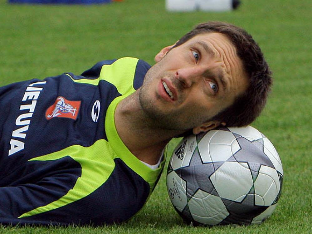 """Deividas Šemberas: """"Futbolas be emocijų – miręs"""""""