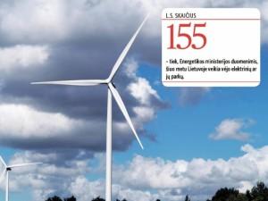 Ar vėjo jėgainių turime užtektinai?