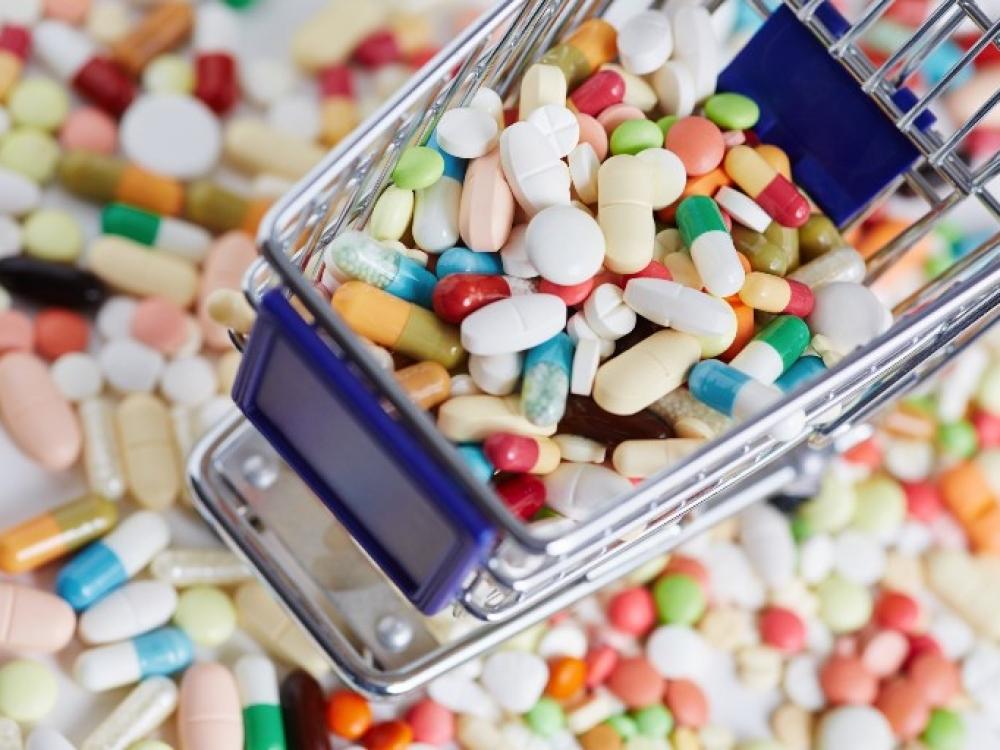 Išlaidos vaistams nepaliauja augusios