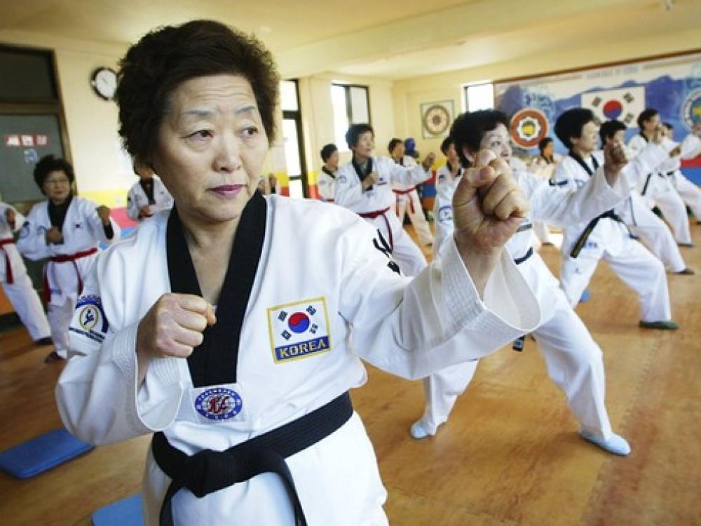Pietų Korėjos moterys vyriausios pasaulyje
