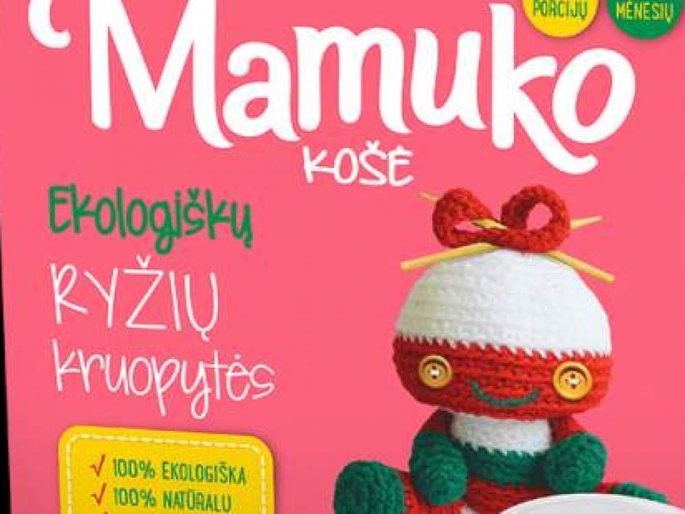 """Iš rinkos surenkama dar 3 pavadinimų """"Mamuko"""" produkcija"""