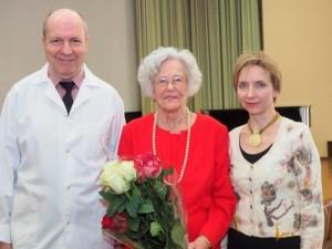 Originalios vėžio atsiradimo teorijos autorė atšventė 90-ąjį jubiliejų
