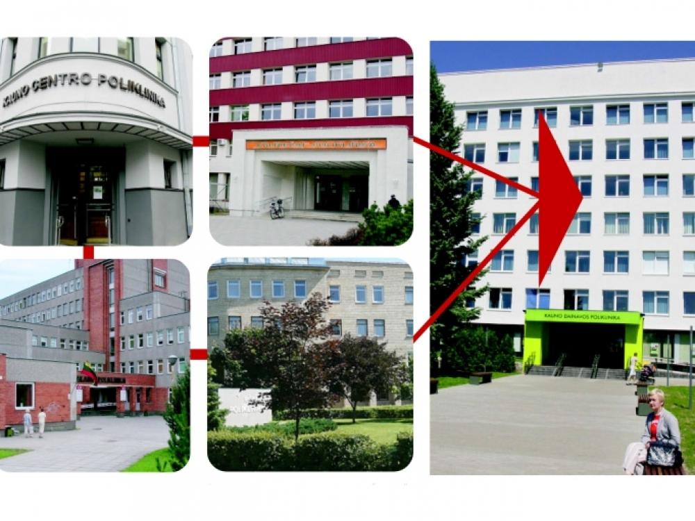 Kauno poliklinikų reorganizacijai uždegta žalia šviesa