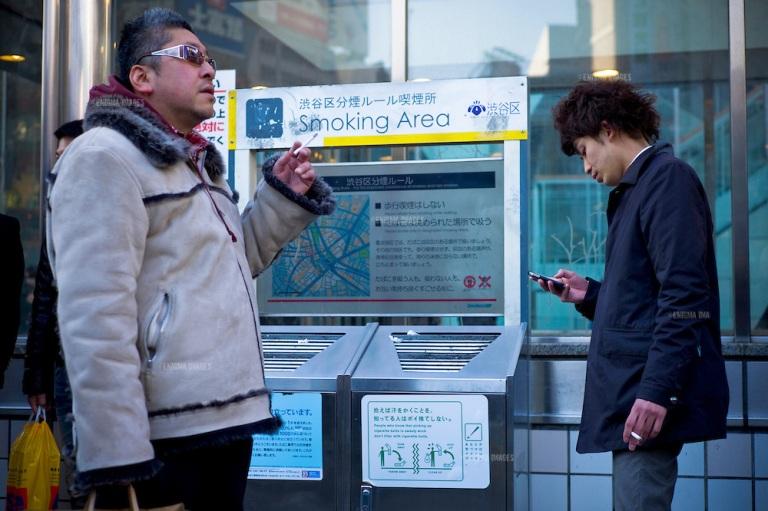 Japonija raginama per olimpiadą apriboti rūkymą