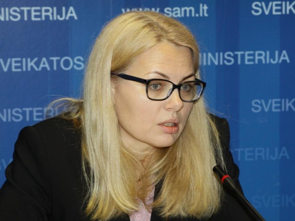 Seimo nariai kelia sveikatos apsaugos viceministrės galimybės toliau užimti pareigas klausimą