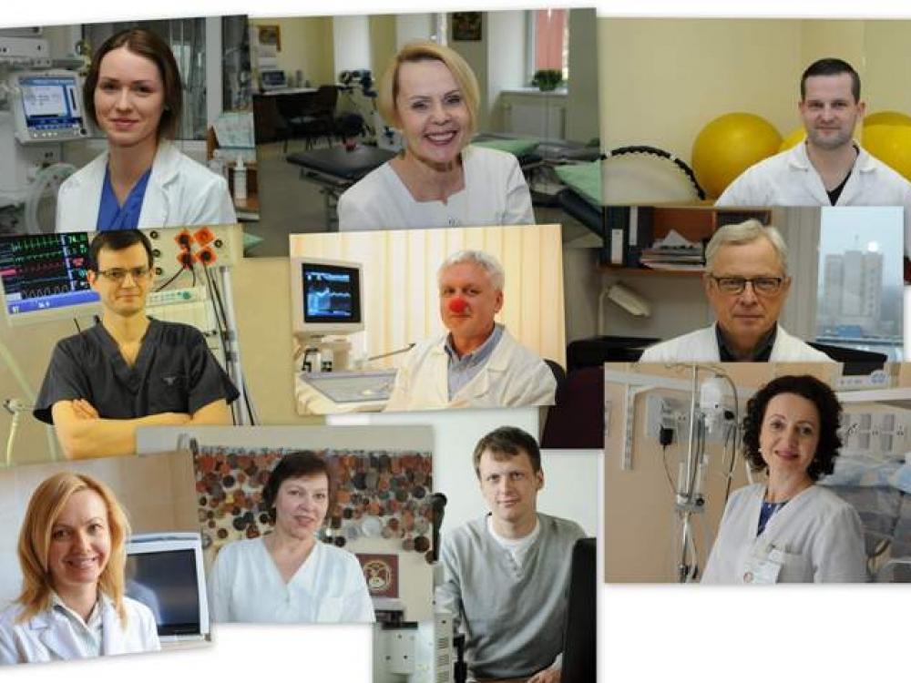 Santariškių klinikų darbuotojai išsirinko savo herojus