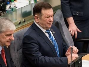 Seimas pradėjo Kęstučio Pūko apkaltą