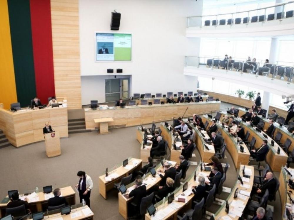 Seimas pritarė Privalomojo sveikatos draudimo tarybos sudarymo tvarkos keitimui