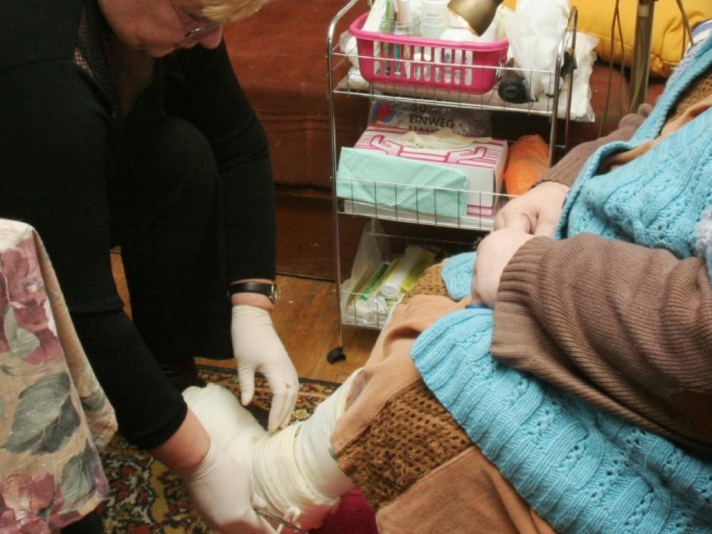 Penkiolika eurų – paskatinamasis prizas labiau rūpintis neįgaliais pacientais
