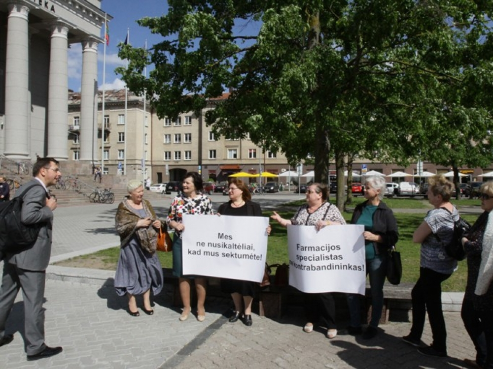 Vaistininkų argumentų neklauso nei ministerija, nei Seimas