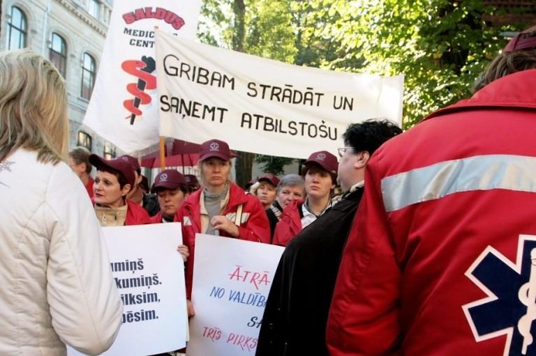 Latvių gydytojai laimėjo kovą prieš valdžią