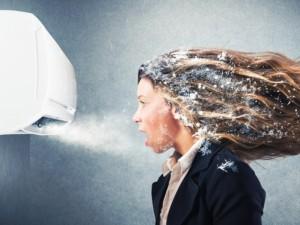 Staigūs temperatūrų pokyčiai susargdina