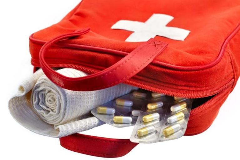 Ruošiant kelionių vaistinėlę persistengti nereikėtų