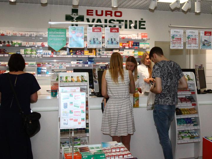 Sostinės centre – visą parą dirbanti vaistinė