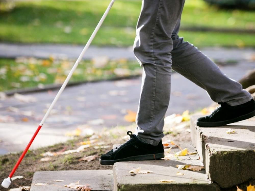 Aklųjų savarankiškumui ugdyti – nemokamos socialinės reabilitacijos paslaugos