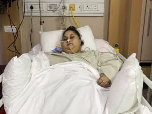 Mirė sunkiausia pasaulio moteris