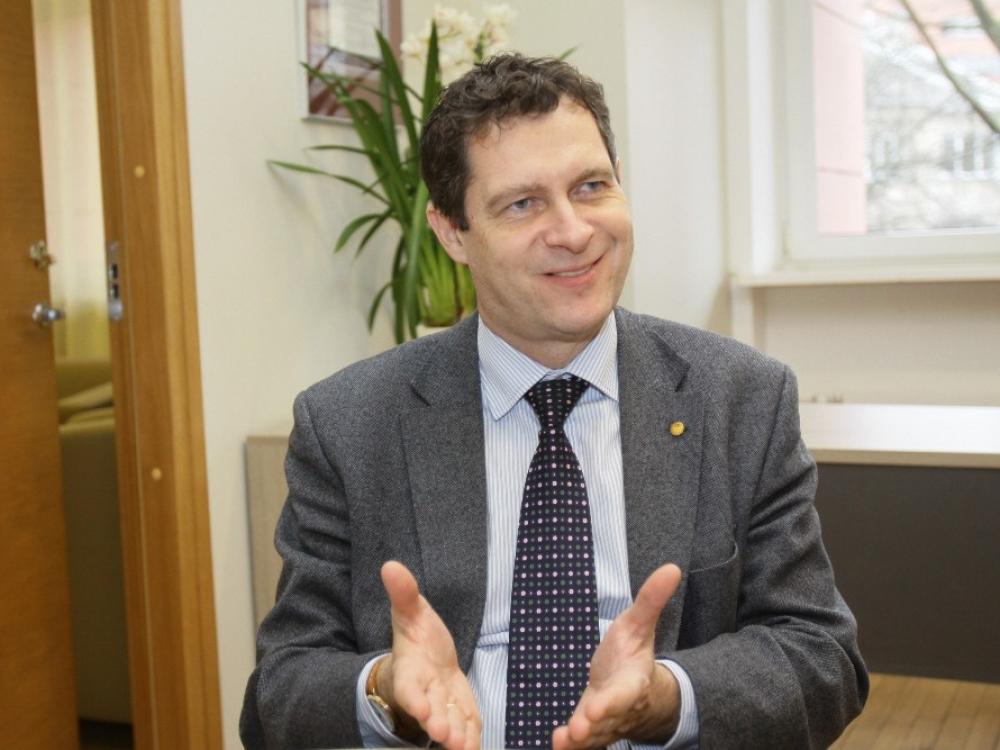 """Prof. Algirdas Utkus pasilikęs """"kartoti kurso"""" nesigaili"""