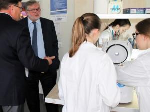 Prof. Algirdas Bumelis Kaune įžvelgia biotechnologijų klasterio galimybes