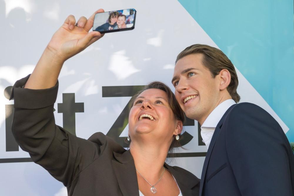 Asmenukių sesijos su naujuoju Austrijos lyderiu neretai trunka ilgiau kaip dvi valandas