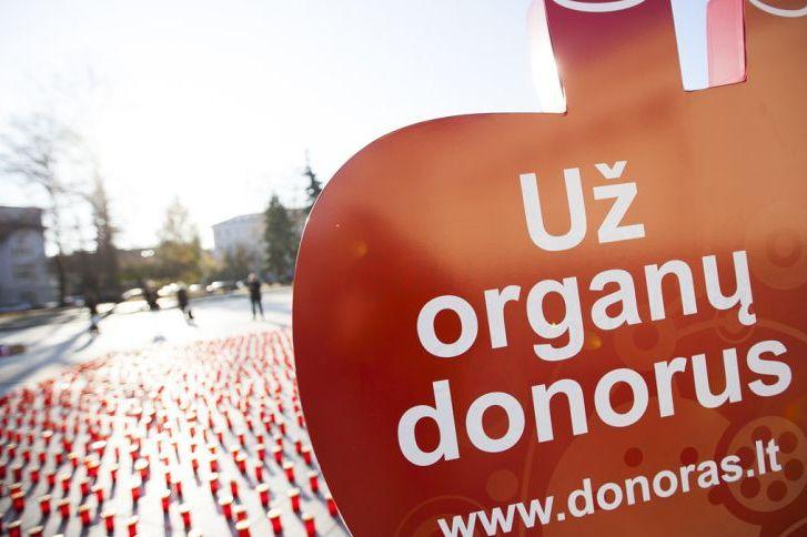 Lietuvoje – dėkingumo renginiai gyviesiems donorams, mirusių donorų artimiesiems ir medikams