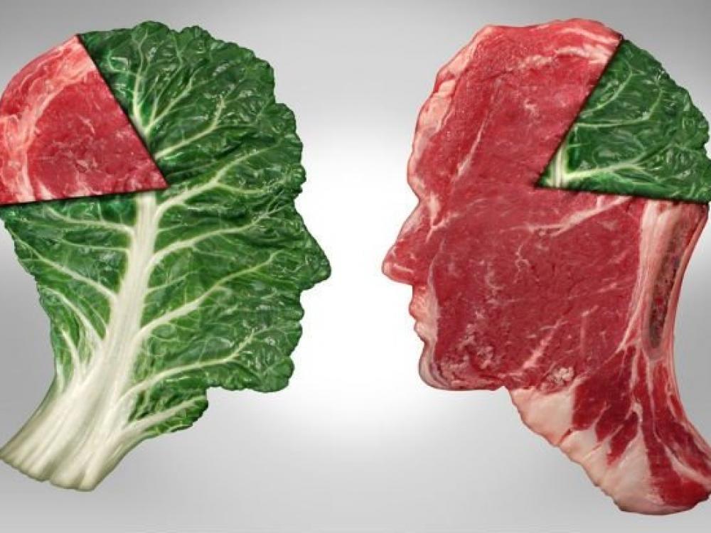Ne visi gimę mėsėdžiai, ne visi - augalėdžiai