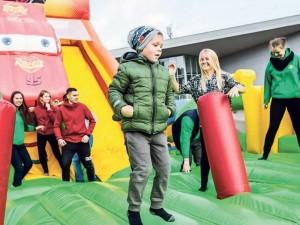 Sostinės mokyklas buria į sporto šventę