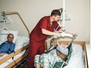 Neatpažįstamai pasikeitusi Panevėžio palaikomojo gydymo ir slaugos ligoninė