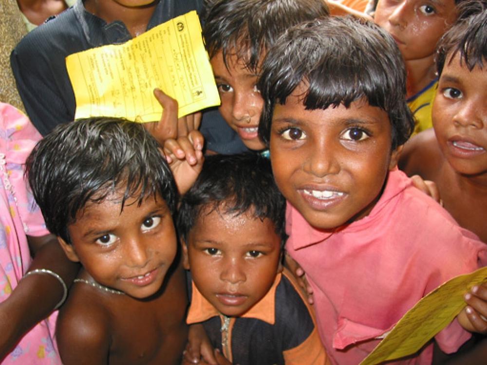 Indijoje vaikai bus skiepijami daugiau nemokamų vakcinų